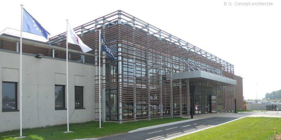 Bâtiment Tertiaire - Bâtiment industriel - Centre de recherche BOSTIK