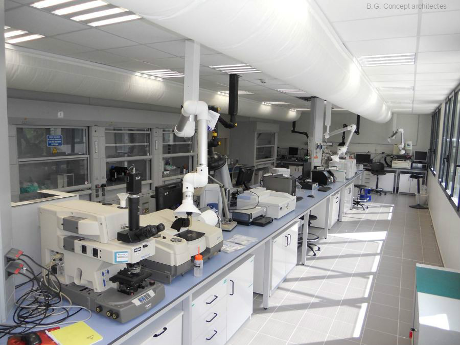 Industrie BOSTIK Laboratoires
